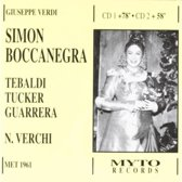 Verdi: Simon Boccanegra New York (Met 1961)