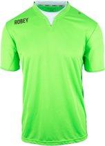 Robey Shirt Catch SS - Voetbalshirt - Neon Green - Maat XXXXL