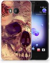 HTC U11 TPU-siliconen Hoesje Skullhead