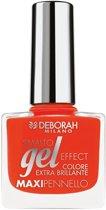 Deborah Milano Gel Effect - 10 Coral Flash - Nagellak