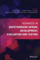 Advances in Questionnaire Design, Development, Evaluation and Testing
