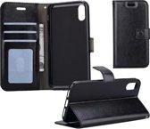 iPhone Xr Flip Case Cover Flip Hoesje Book Case Hoes – Zwart