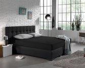 Dreamhouse Bedding Hoeslaken Jersey 135 gr.  90X 200 - Zwart
