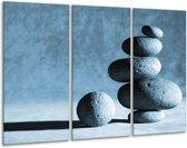 Glas schilderij Steden | Blauw | 120x80cm 3Luik | Foto print op Glas |  F006379