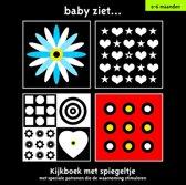 Boek cover Baby Ziet... - Kijkboek met spiegeltje 0-6 maanden van Diverse auteurs (Hardcover)