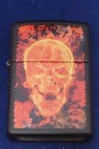 Aansteker Zippo Burning Skull