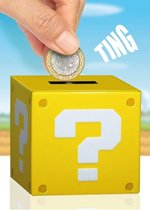 Super Mario Money Bank with Sound Question Block 10 cm