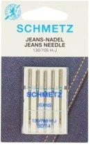 Naaimachinenaalden Schmetz Jeans naalden 130/705 H-J 90/14 5 stuks