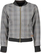 Nobell' Meisjes truien & vesten Nobell' Dylon reversible bomber jacket antraciet 146/152