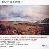 Berwald: Concerto Per Violino E Orchestra In Do Di