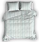 Romanette Hamilton - Dekbedovertrek - Lits-jumeaux - 270x200/220 cm + 2 kussenslopen 60x70 cm - Mistygreen