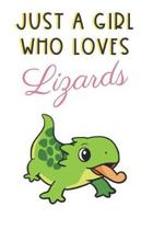Just A Girl Who Loves Lizards