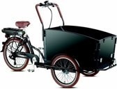 Troy E-bike Special Bakfiets - Fiets (elektrisch) - Unisex - Zwart