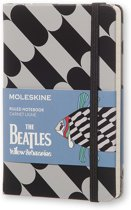 Moleskine notitieboek The Beatles - Pocket - Hard cover - Gelinieerd