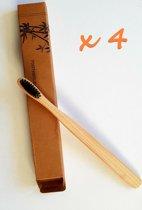 Bamboe tandenborstel - zacht en medium - 1stuk