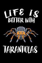 Life Is Better WithTarantulas: Animal Nature Collection