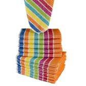 Homéé - Vaatdoeken regenboog gestreept | set van 20 stuks | 100% Katoenen badstof