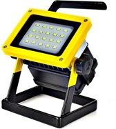 Oplaadbare draadloze LED werklamp 30W - drie standen
