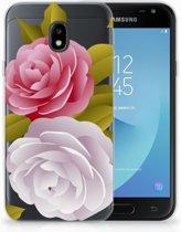 Samsung Galaxy J3 2017 Uniek TPU Hoesje Roses
