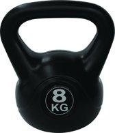 Tunturi Kettlebell - PVC - 8 kg - Zwart