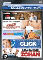 50 FIRST DATES / ANGER MANAGEMENT / CLICK (2006) / MR. DEEDS / YOU DON'T MESS WITH THE ZOHAN - 5 PACK