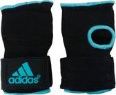 Adidas Gevoerde Boks binnenhandschoen Zwart/Blauw M