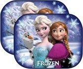 Disney Frozen zonnescherm Auto - Elsa & Anna Autoramen - Achterramen - Zijruit - UV Zonwering - kinderen - 2 stuks - 44 x 38cm