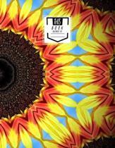 Sheet Music Notebook: Petals All Around - Blank Sheet Music, Large Notebook