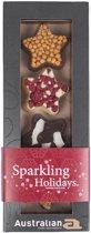 Australian Chocolade Kerststerren Magische Collectie - 6 x 100 gram