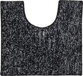 Sealskin Speckles - Toiletmat - 45x50 cm - Zwart