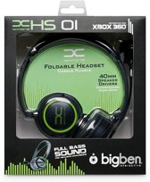 Bigben Gaming Headset Zwart Xbox 360