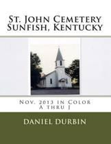 St. John Cemetery Sunfish, KY - Color A-J
