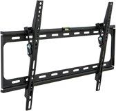 TecTake - Kantelbare muurbeugel - Geschikt voor tv's van 32 t/m 63 inch - Zwart
