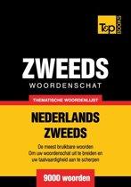 Omslag van 'Thematische woordenschat Nederlands-Zweeds - 9000 woorden'