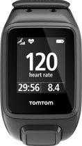 TomTom Spark Cardio + Music GPS Fitnesshorloge met Bluetooth headset - Zwart - Large
