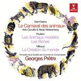 Saint-Saens: Le Carnaval des animaux; Poulenc: Les Animaux modeles; Les Biches; Milhaud: La Creation du monde
