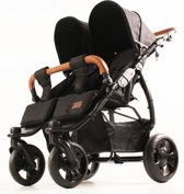 Kees K2 Plus - Kinderwagen - Black - Black
