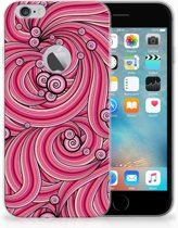 iPhone 6 Plus | 6s Plus Uniek TPU Hoesje Swirl Pink
