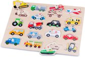 New Classic Toys - Knoppuzzel - Voertuigen