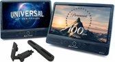 Autovision AV2500IR Duo - Portable DVD-speler - 10.1 inch