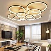 28W creatieve ronde moderne kunst LED plafond lamp  4 hoofden (warm wit)