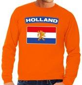 Oranje Holland vlag sweater heren XL
