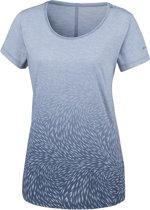 Columbia Ocean Fade Short Sleeve Tee Shirt Dames - Blue Dusk