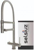 Selsiuz XL Inox (RVS) met TITANIUM Solo boiler