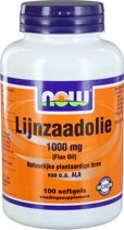 VitOrtho Now Lijnzaadolie 1000 mg tabletten 100 st