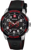Wenger Nomad LED rood Horloge 43 mm