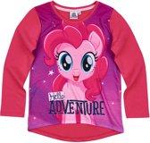 My Little Pony T-shirt-met-lange-mouw-fuchsia - Maat 116