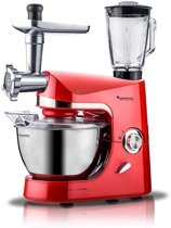 TurboTronic TT-007 - Keukenmachine - Rood