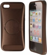 iPhone 5c Hard Case Hoesje - Ultimatum Bruin