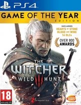 The Witcher 3 Wild Hunt Game of the Year Edition - PS4